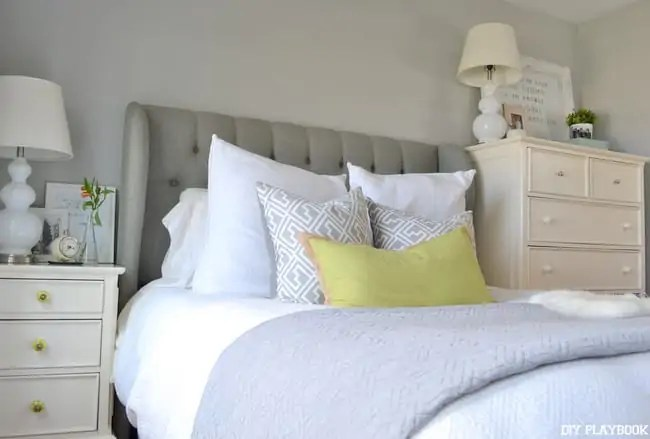 New-Gray-Headboard-White-Bedding