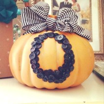 Button-Pumpkin