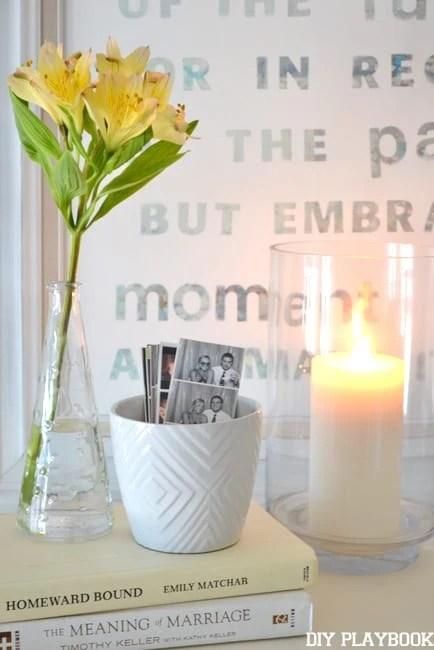 Candle-Vignette