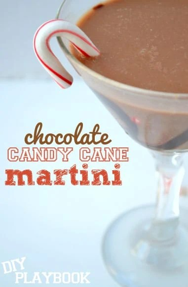 Peppermint-chocolate-martini
