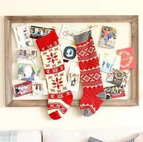christmas stocking winter