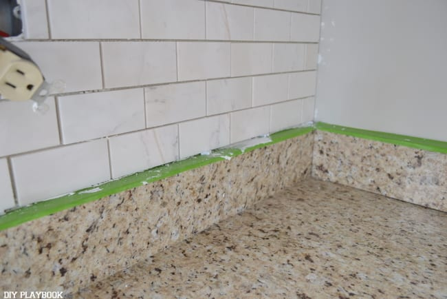 backsplash DIY