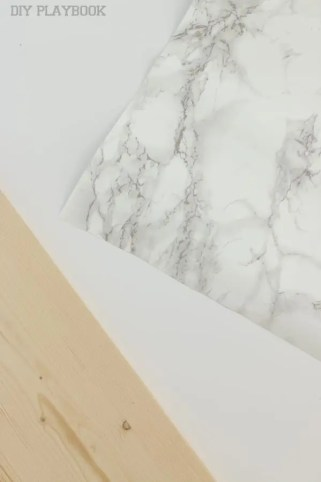 marble shelf tutorial