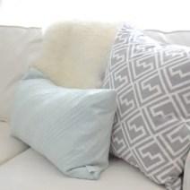 Geometric-Gray-Pillow