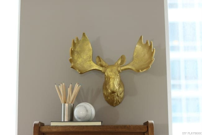 maggie reveal moose head gold