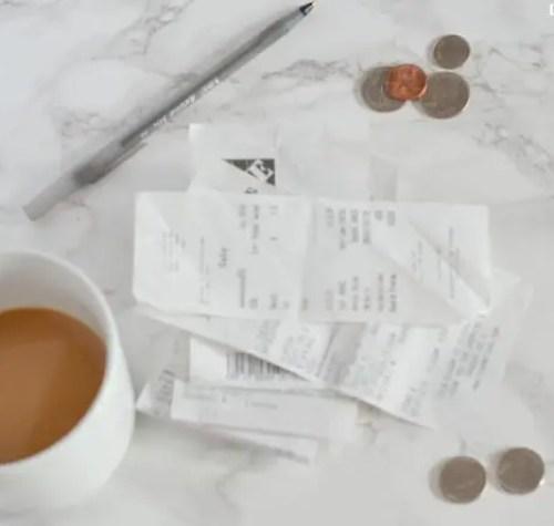coffee-change-receipts