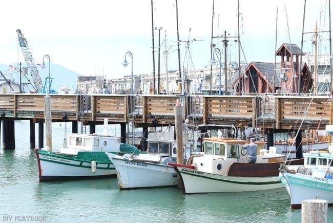 San Francisco California boats