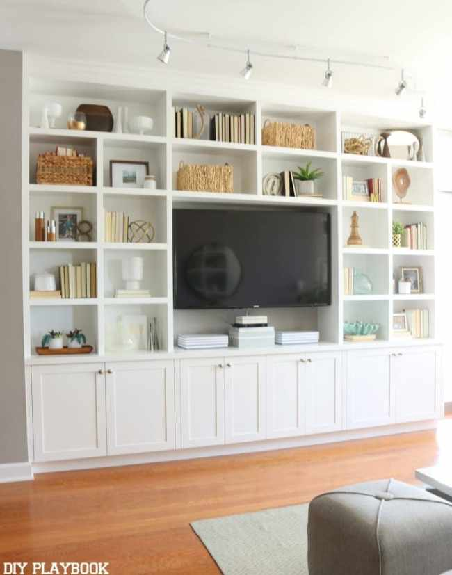 Combining A Tv Wall Mount With A Shelf
