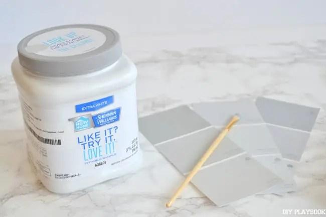 Paint-samples-quart-brush
