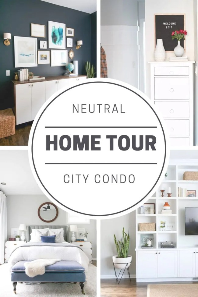 City Condo Home Tour