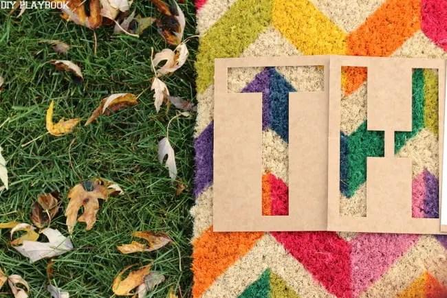 Stencil Doormat