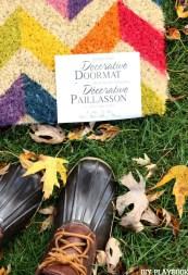 Boots fall doormat