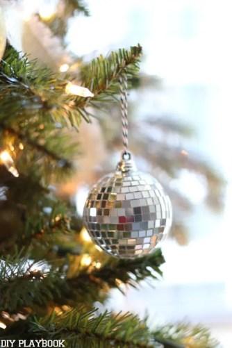 Christmas Dream Tree Disco Ornament