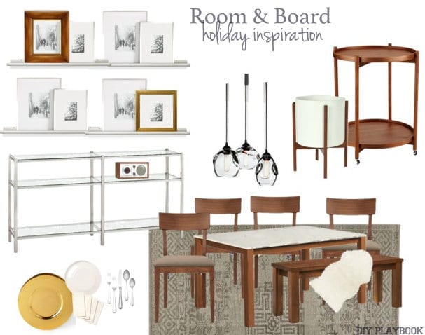Room and Board Mood Board
