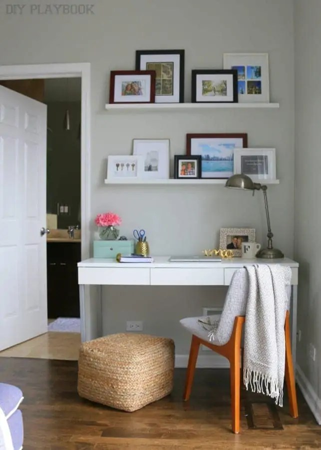 Brilliant Caseys Office Space In The Bedroom Diy Playbook Largest Home Design Picture Inspirations Pitcheantrous