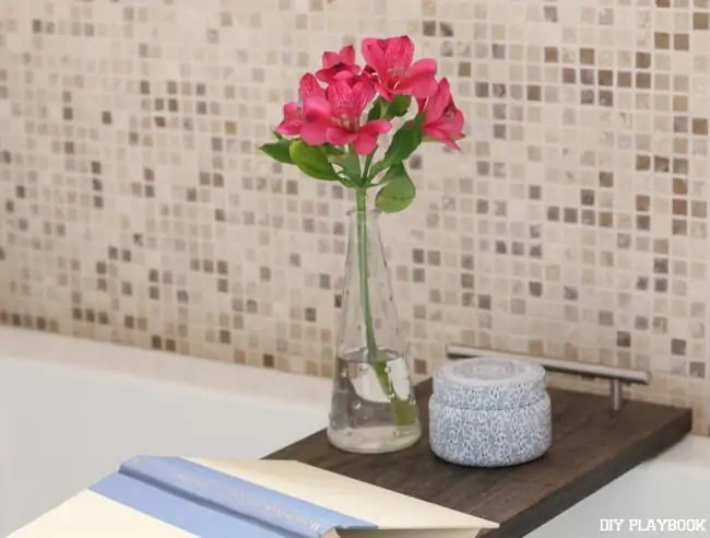 13-flower-candle-bathtub-tray