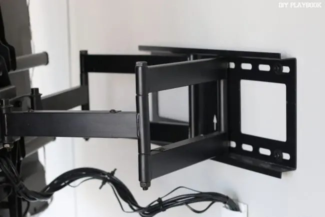 television-mounted