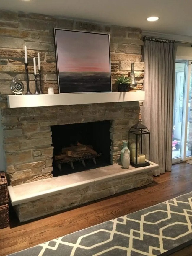 fireplace-mantel-diyplaybooksos-lisa