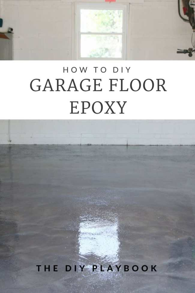 DIY Garage Floor Epoxy