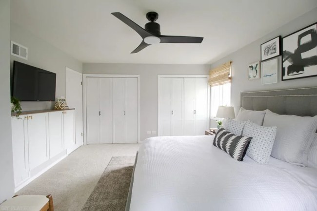 lowes-makeover-bedroom-reveal-closet-doors-fan-gallery-bed