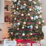 Create A Pretty And Plaid Christmas Tree The Diy Playbook