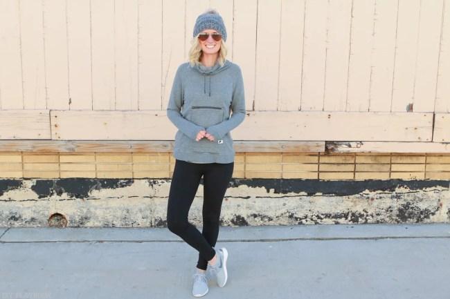athleisure-gymshoes-grey-hoodie