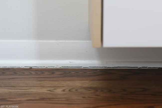 How_to_install_Shiplap_Baseboard_Progress-4