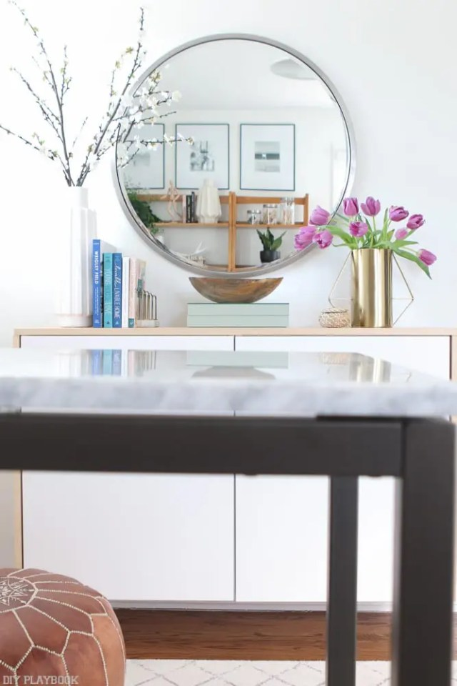 fauxdenza_mirror_Spring_branches_books_flowers-14