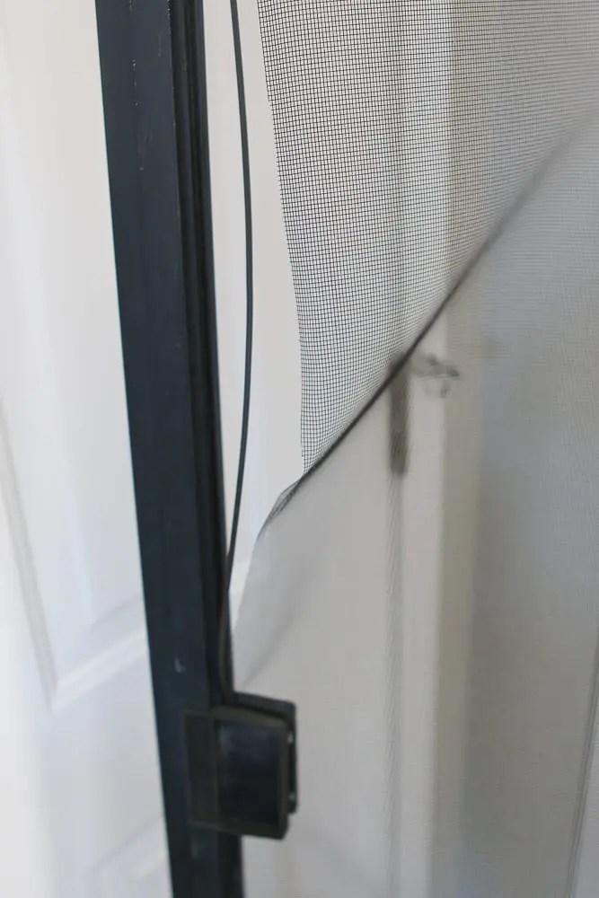 how to fix a screen door easy diy
