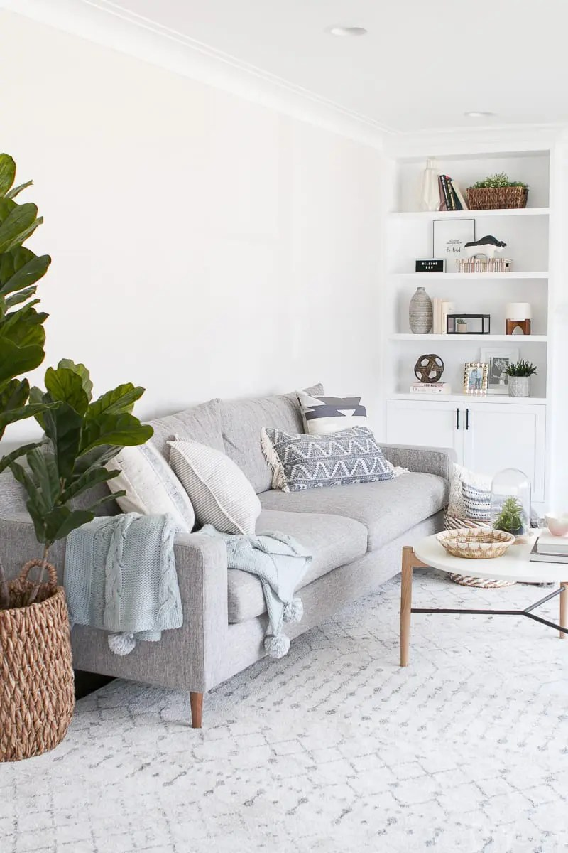 throw pillows for a gray couch