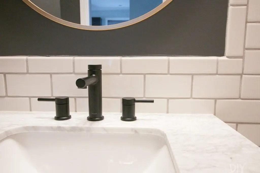 to install a bathroom vanity