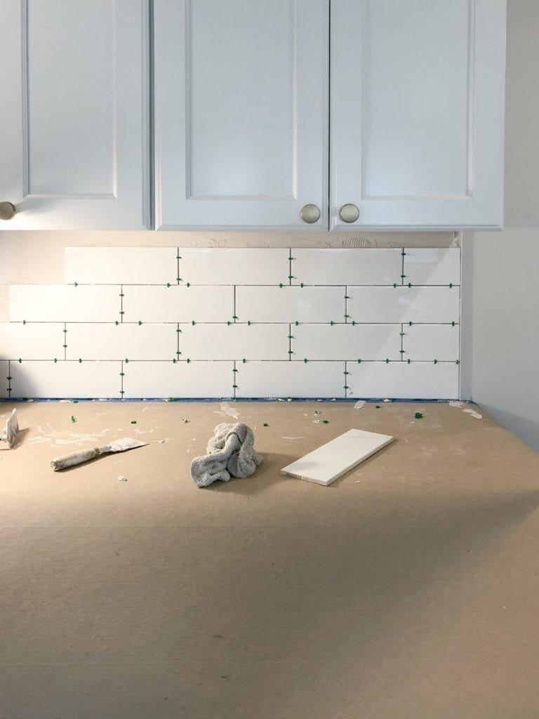 how to install backsplash tile the