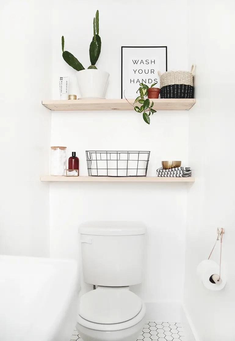 Bathroom Decor Mistakes Over The Toilet Storage The Diy Playbook