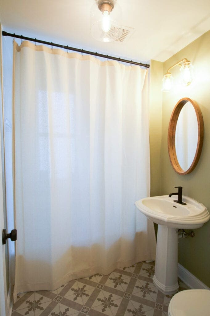 extra long shower curtain my