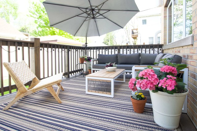 Sharing our new landscaping and patio updates