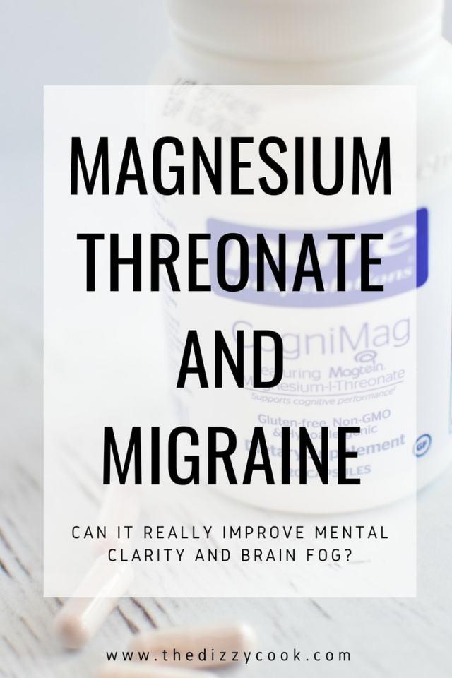 Brain Fog? Try Magnesium Threonate for Vestibular Migraine - The