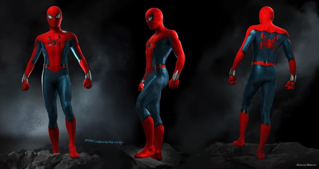 Spider-Man suit concept art