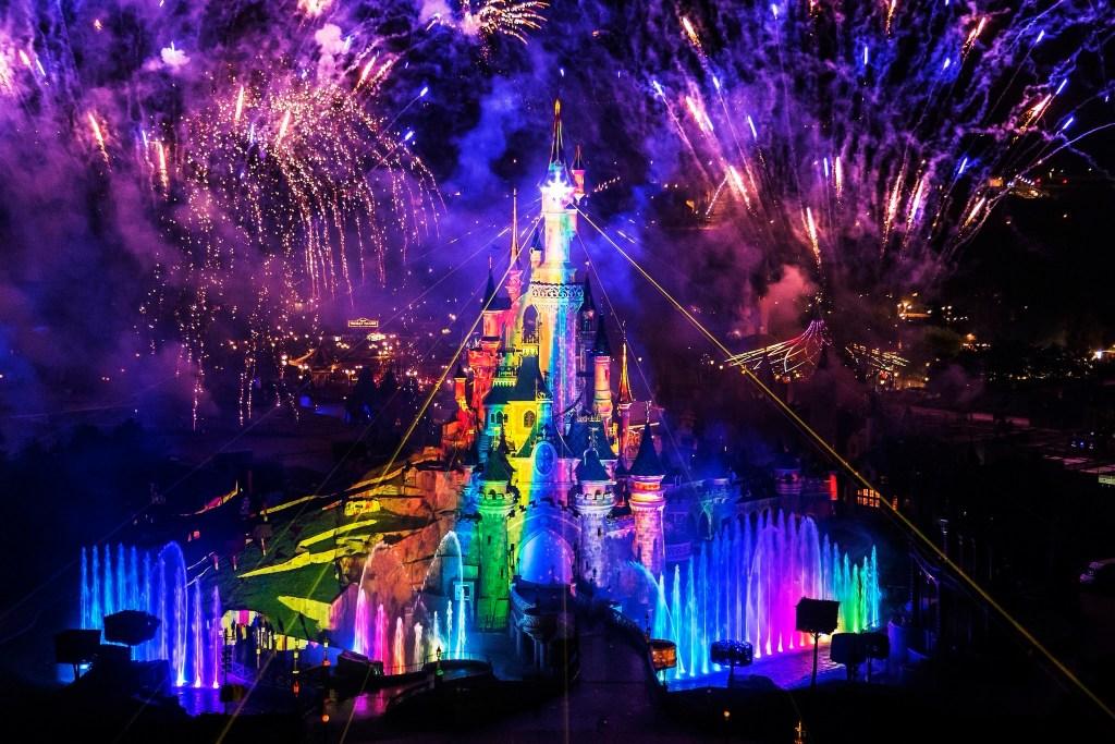 Disneyland Paris Pride 2020 Castle