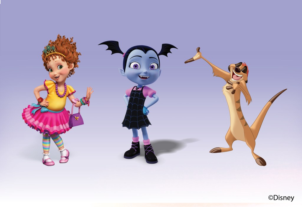 Fancy Nancy, Vampirina and Timon are set to appear in Disney Junior Dream Factory