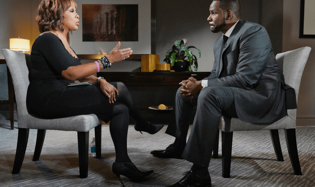 "R. Kelly Sits Down With Gayle King On ""CBS This Morning"""