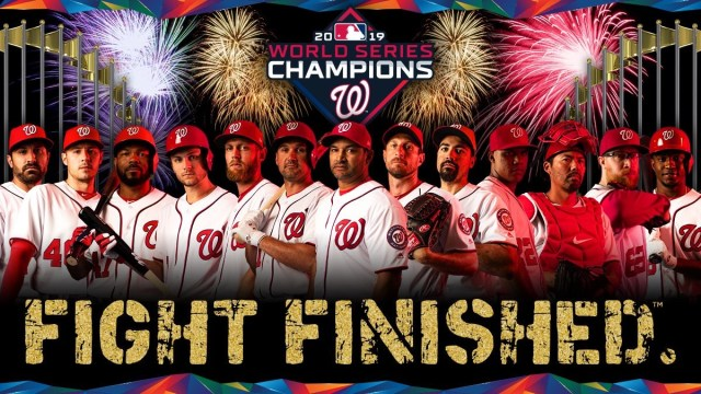 Washington Nationals win games 6 & 7 to become World Series champions