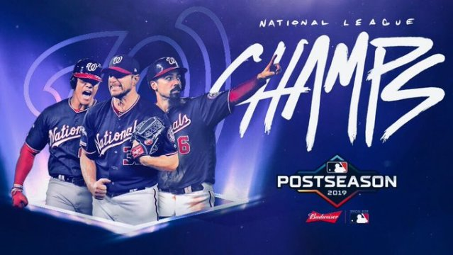 Washington Nationals sweep NLCS; headed to first ever World Series