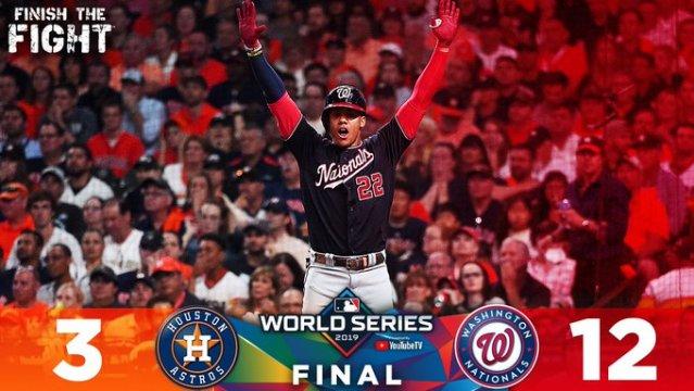 Washington Nationals take 2-0 lead in World Series