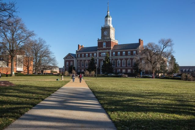 Howard University transitioning to online instruction after spring break