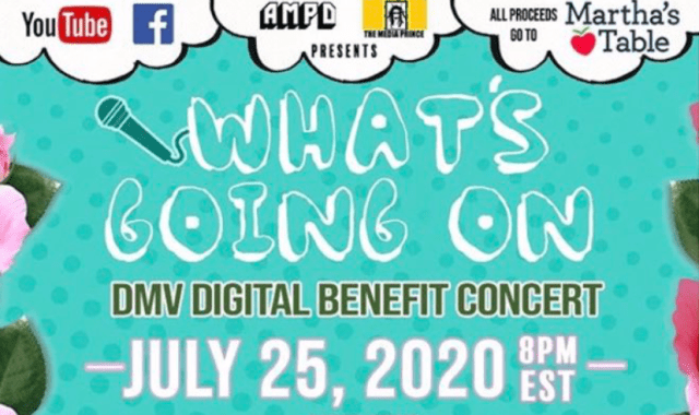 DMV Gives Back Through Celebrity Benefit Concert!