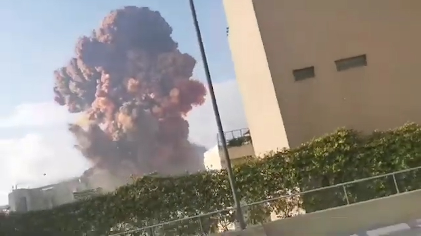 Massive explosion shakes Lebanon's capital leaving at least 70 dead and thousands injured