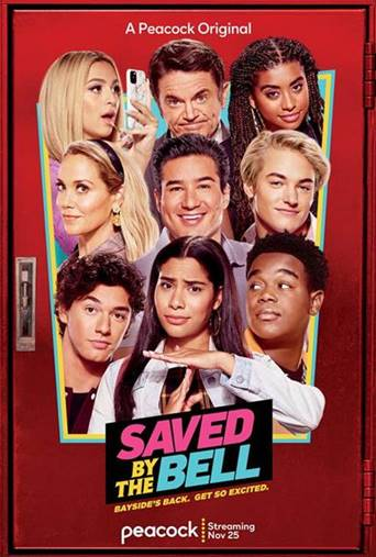 'SAVED BY THE BELL' RELEASES  NEW TRAILER AND SHOW ART