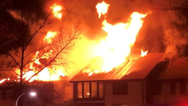Woman found dead after fire rips through Montgomery County apartment building