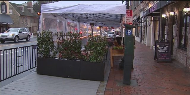Plans in the works to install outdoor dining decks and expand sidewalks in Georgetown