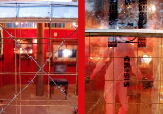 THE SCULPTURE SHACK. CHELSEA ARTS CLUB. LONDON. 2017-18